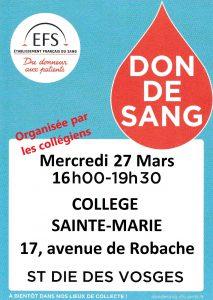 Collecte Guib's Don du Sang
